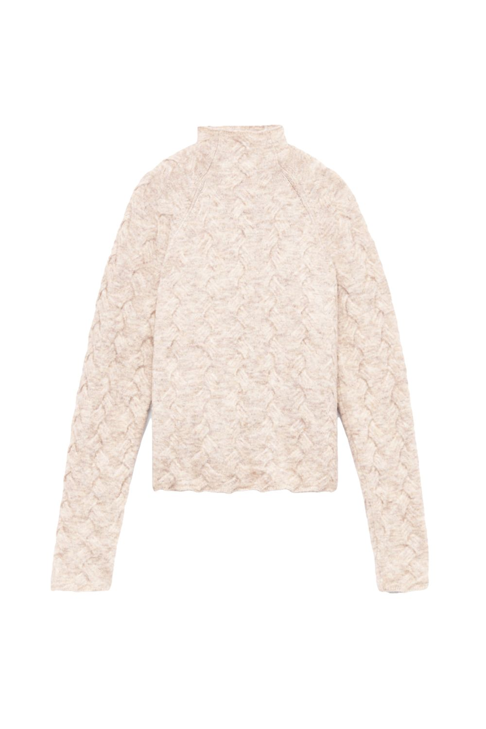 "<p>Here's a very nice woven sweater to make up for it. The texture is very pleasing and aligns with <a href=""http://www.marieclaire.com/fashion/news/g4815/fall-fashion-2017/"" target=""_blank"" data-tracking-id=""recirc-text-link"">one of fall's biggest trends</a>.</p><p><em data-redactor-tag=""em"" data-verified=""redactor"">Aritzia, $145</em></p><p><strong data-redactor-tag=""strong"" data-verified=""redactor"">BUY IT: <a href=""http://us.aritzia.com/product/mical-sweater/61056.html?dwvar_61056_color=10359"" target=""_blank"" data-tracking-id=""recirc-text-link"">aritzia.com</a>.</strong></p>"