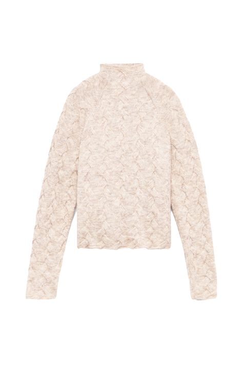 """<p>Here's a very nice woven sweater to make up for it. The texture is very pleasing and aligns with <a href=""""http://www.marieclaire.com/fashion/news/g4815/fall-fashion-2017/"""" target=""""_blank"""" data-tracking-id=""""recirc-text-link"""">one of fall's biggest trends</a>.</p><p><em data-redactor-tag=""""em"""" data-verified=""""redactor"""">Aritzia, $145</em></p><p><strong data-redactor-tag=""""strong"""" data-verified=""""redactor"""">BUY IT: <a href=""""http://us.aritzia.com/product/mical-sweater/61056.html?dwvar_61056_color=10359"""" target=""""_blank"""" data-tracking-id=""""recirc-text-link"""">aritzia.com</a>.</strong></p>"""
