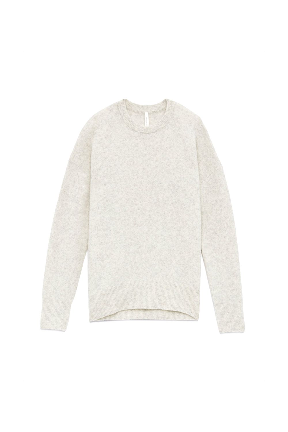 "<p>You know how every season you're like ""I need to find the perfect crew neck sweater that's not weirdly snug in the torso but loose in the arms instead of the other way around?"" This might be it.</p><p><em data-redactor-tag=""em"" data-verified=""redactor"">Aritzia, $110</em></p><p><strong data-redactor-tag=""strong"" data-verified=""redactor"">BUY IT: <span class=""redactor-invisible-space"" data-verified=""redactor"" data-redactor-tag=""span"" data-redactor-class=""redactor-invisible-space""></span><a href=""http://us.aritzia.com/product/thurlow-sweater/64424.html?dwvar_64424_color=1560"" target=""_blank"" data-tracking-id=""recirc-text-link"">aritzia.com</a>.</strong></p>"