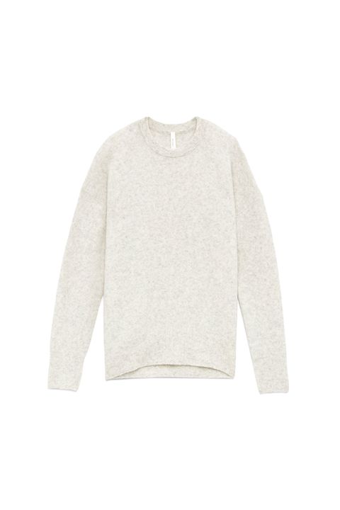 "<p>You know how every season you're like ""I need to find the perfect crew neck sweater that's not weirdly snug&nbsp;in the torso but loose in the arms instead of the other way around?"" This might be it.</p><p><em data-redactor-tag=""em"" data-verified=""redactor"">Aritzia, $110</em></p><p><strong data-redactor-tag=""strong"" data-verified=""redactor"">BUY IT:&nbsp;<span class=""redactor-invisible-space"" data-verified=""redactor"" data-redactor-tag=""span"" data-redactor-class=""redactor-invisible-space""></span><a href=""http://us.aritzia.com/product/thurlow-sweater/64424.html?dwvar_64424_color=1560"" target=""_blank"" data-tracking-id=""recirc-text-link"">aritzia.com</a>.</strong></p>"