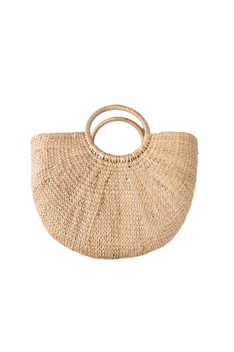 """<p>Why did I open this story with a summery bag? Am I nuts? So what if I am? Why am I talking to myself when I should be saying that <a href=""""http://www.marieclaire.com/fashion/news/a23945/seasonally-inappropriate-bag-trend/"""" target=""""_blank"""" data-tracking-id=""""recirc-text-link"""">seasonal anachronism is a styling trick you should be using</a> with your accessories?&nbsp;</p><p><em data-redactor-tag=""""em"""" data-verified=""""redactor"""">Front Row Shop, $46</em></p><p><strong data-redactor-tag=""""strong"""" data-verified=""""redactor"""">BUY IT:&nbsp;</strong><span class=""""redactor-invisible-space"""" data-verified=""""redactor"""" data-redactor-tag=""""span"""" data-redactor-class=""""redactor-invisible-space""""><strong data-redactor-tag=""""strong"""" data-verified=""""redactor""""><a href=""""http://www.frontrowshop.com/product/frs-braided-tote"""" target=""""_blank"""" data-tracking-id=""""recirc-text-link"""">frontrowshop.com</a>.</strong></span></p>"""