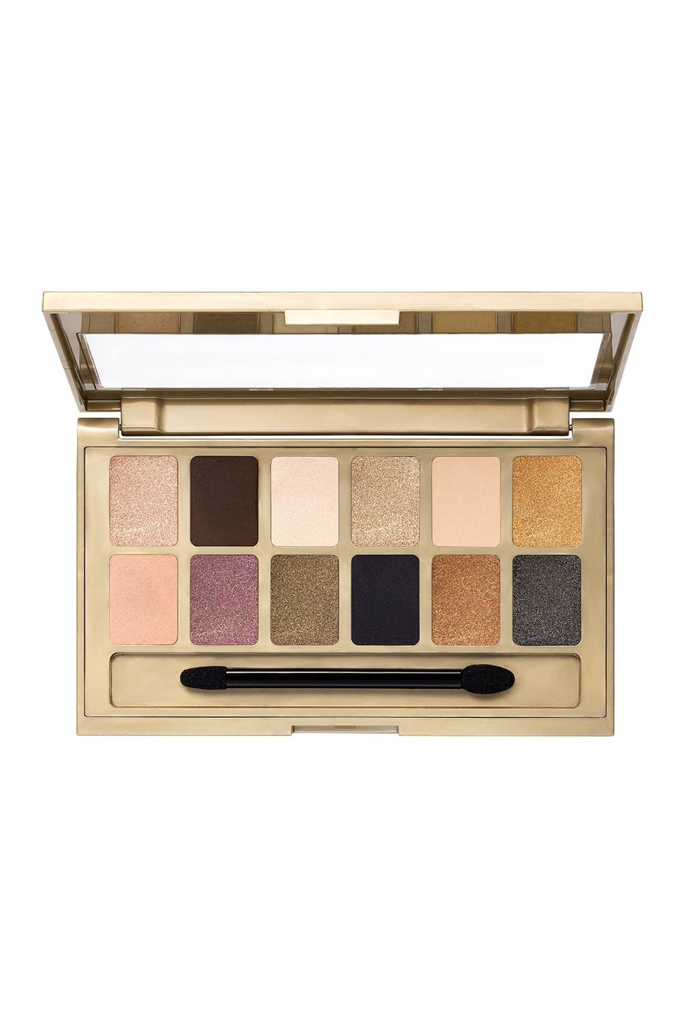 "<p>The name of this palette says it all: Each of these 12 shimmer-packed shadows gleam like a wedge of gold, at one-trillionth of the cost.<br></p><p><i data-redactor-tag=""i"">Maybelline The 24KT Nudes Eyeshadow Palette, $8.99</i></p><p><strong data-redactor-tag=""strong"">BUY IT: <a href=""https://www.target.com/p/maybelline-174-the24kt-nudes-eye-shadow-palette-120-0-34-oz/-/A-51168535"">target.com</a>.  </strong></p>"