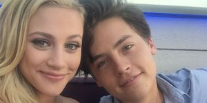 Lili Reinhart Cole Sprouse Bughead birthday message