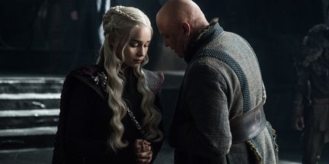 Daenerys and Varys on Game of Thrones