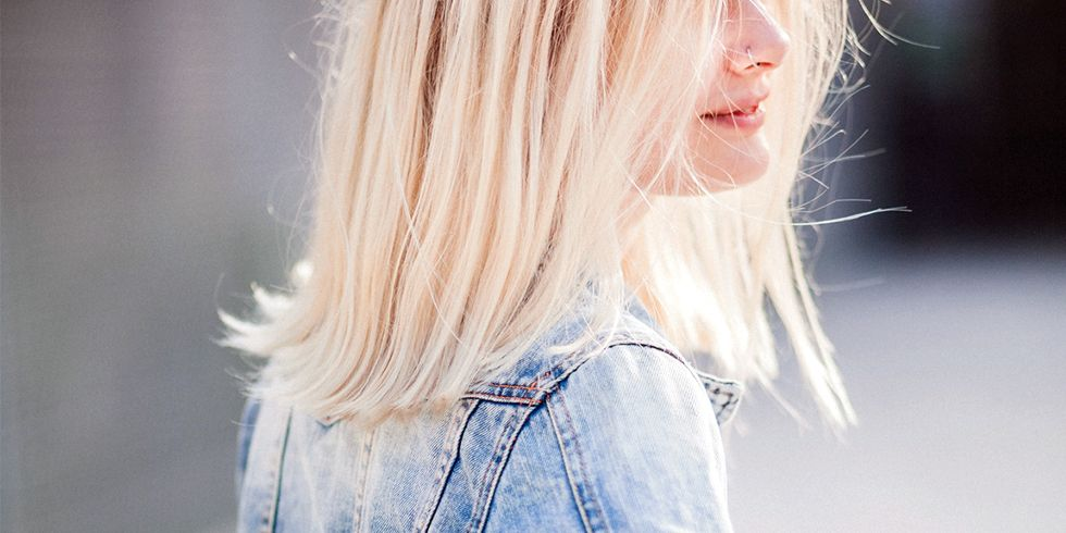 How To Bleach Hair Without Damage How To Dye Hair Platinum Blonde