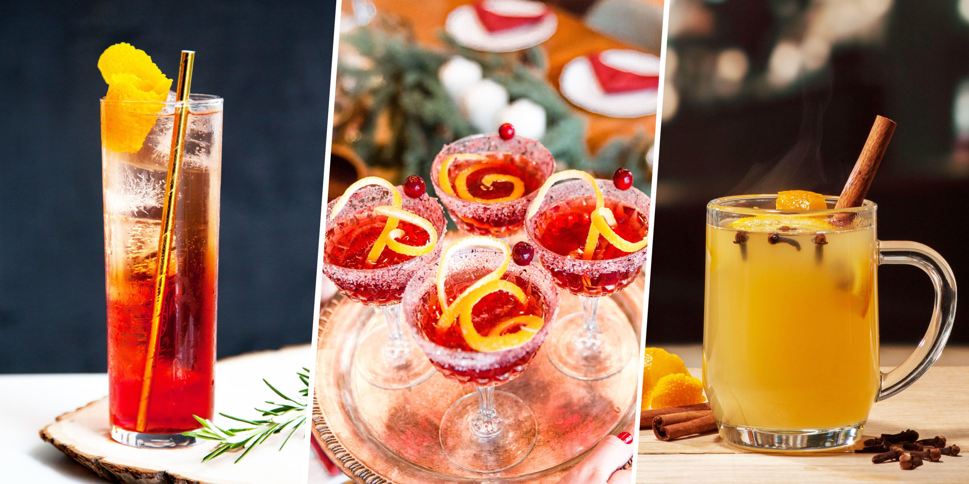 100+ Christmas Cocktails & Holiday Alcoholic Drink Recipes for 2017