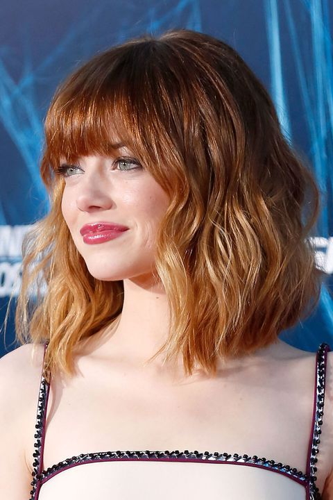 """NEW YORK, NY - APRIL 24:  Actress Emma Stone attends """"The Amazing Spider-Man 2"""" premiere at the Ziegfeld Theater on April 24, 2014 in New York City.  (Photo by Jemal Countess/Getty Images)"""