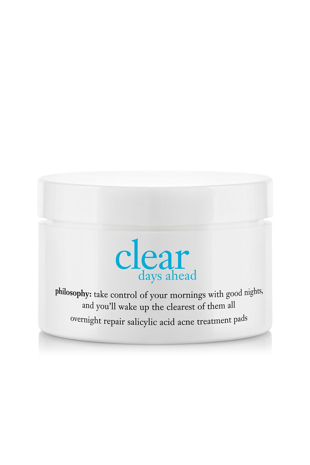 "<p>If your skin tends to itch and shrivel at the slightest mention of acne treatments, these 0.5-percent salicylic acid pads are for you. And don't be put off by the low percentage—they're also formulated with skin-clearing mandelic acid and glycolic acid for a triple acne-killing boost.</p><p><i data-redactor-tag=""i"">Philosophy Clear Days Ahead Overnight Repair Treatment Pads, $42</i></p><p><strong data-redactor-tag=""strong"">BUY IT:&nbsp&#x3B;<a href=""http://www.sephora.com/clear-days-ahead-overnight-repair-salicylic-acid-acne-treatment-pads-P312003?"">sephora.com</a>.&nbsp&#x3B;</strong></p>"