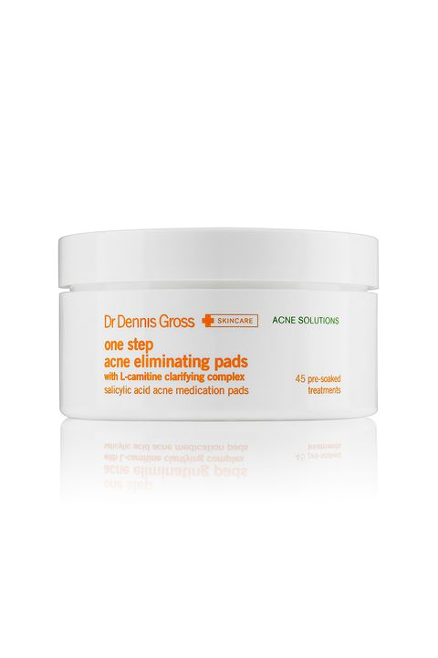 "<p>Filled with bacteria-killing azelaic acid (the unsung gentle hero of the acne world) and skin-balancing willow bark, these pads can be used every day without irritation.</p><p><i data-redactor-tag=""i"">Dr&nbsp;Dennis Gross Skincare One Step Acne Pads, $38</i></p><p><strong data-redactor-tag=""strong"">BUY IT:&nbsp;<a href=""http://www.sephora.com/one-step-acne-eliminating-pads-P381405?skuId=1497858&amp;icid2=products%20grid:p381405"">sephora.com</a>.&nbsp;</strong></p>"