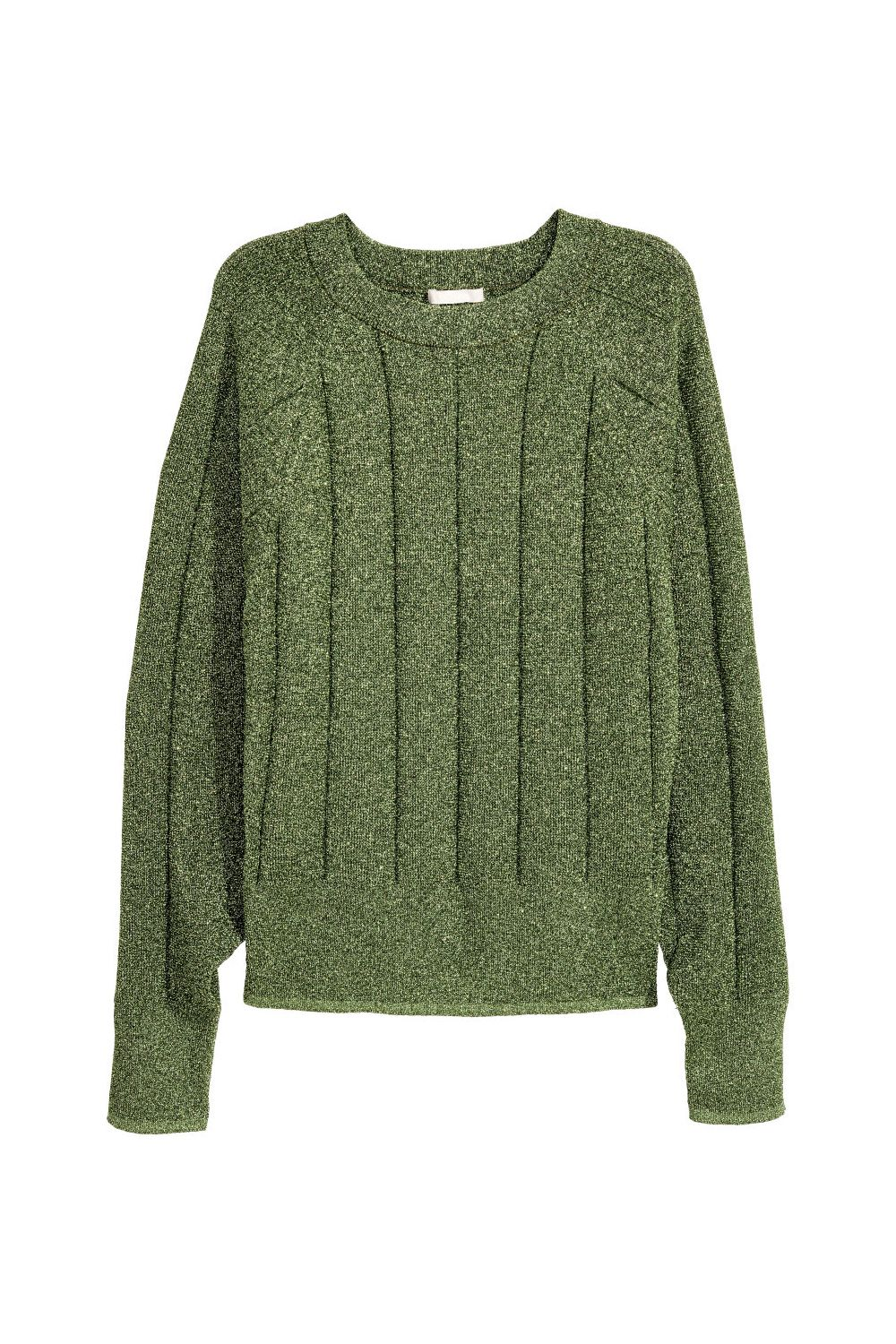 """<p>Then: """"But I want the sweater with GREEN GLITTER, MOOOMMMMM."""" Now:<span class=""""redactor-invisible-space"""" data-verified=""""redactor"""" data-redactor-tag=""""span"""" data-redactor-class=""""redactor-invisible-space"""">You got it.</span><br></p><p><em data-redactor-tag=""""em"""" data-verified=""""redactor"""">H&M, $50</em></p><p><strong data-redactor-tag=""""strong"""" data-verified=""""redactor"""">BUY IT: <a href=""""http://www.hm.com/us/product/75845?article=75845-A"""" target=""""_blank"""" data-tracking-id=""""recirc-text-link"""">hm.com</a>.</strong></p>"""