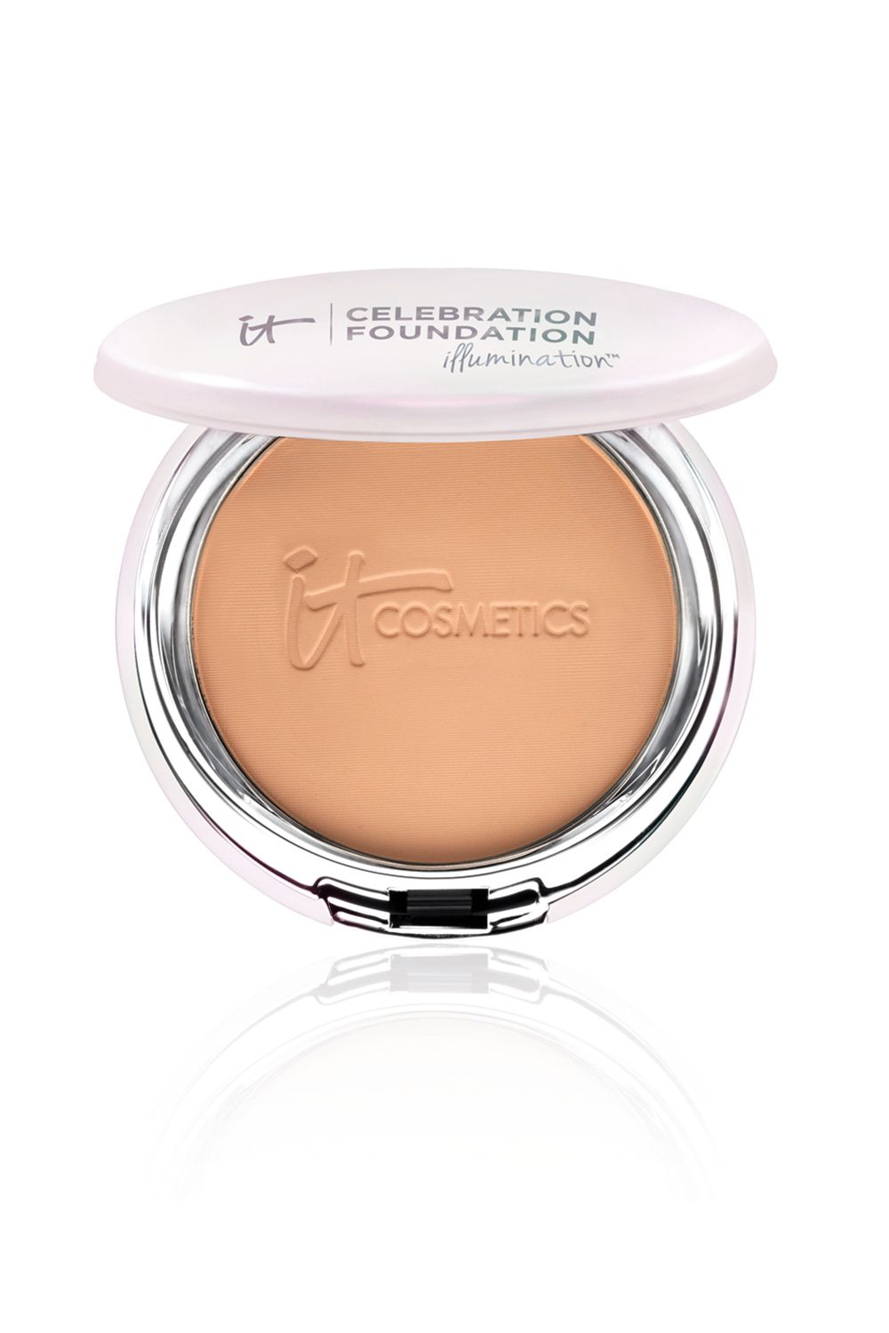 """<p>This lightweight powder is subtly iridescent (zero flecks of glitter or shimmer, here) and so insanely silky, it'll highlight dull, blah skin without sticking to dry patches.</p><p><i data-redactor-tag=""""i"""">It Cosmetics Celebration Foundation Illumination, $35</i></p><p><strong data-redactor-tag=""""strong"""">BUY IT: <a href=""""http://www.ulta.com/celebration-foundation-illumination?productId=xlsImpprod6420042"""">ulta.com</a>.</strong></p>"""