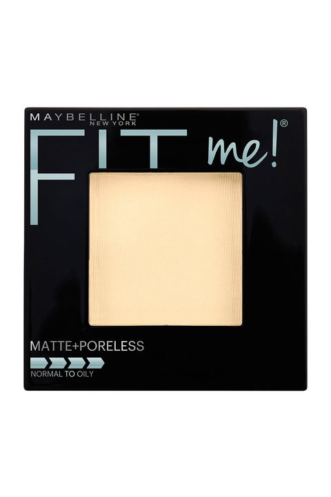 """<p>Swirl this velvet-y powder foundation over your T-zone to zap shiny skin and even out blotchiness, or layer it over your entire face for a diffused, filtered finish.</p><p><i data-redactor-tag=""""i"""">Maybelline New York Fit Me Matte Plus Poreless Powder, $5.64</i></p><p><strong data-redactor-tag=""""strong"""">BUY IT: <a href=""""https://www.amazon.com/Maybelline-New-York-Poreless-Translucent/dp/B01DPA78WY?th=1"""">amazon.com</a>.&nbsp;</strong></p>"""