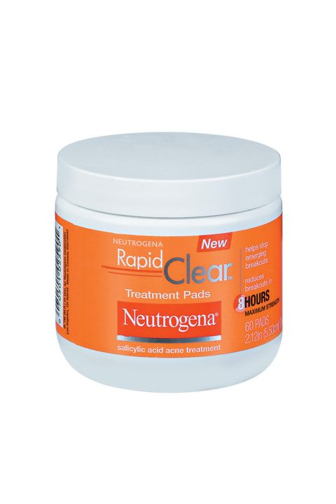 "<p>These cult-favorite pads are loved for a legit reason: The dose of 2-percent salicylic acid is gentle enough for sensitive skin, yet still effective enough to penetrate clogged pores.</p><p><i data-redactor-tag=""i"">Neutrogena Rapid Clear Daily Pads, $8.99</i></p><p><strong data-redactor-tag=""strong"">BUY IT:&nbsp;<a href=""http://www.ulta.com/rapid-clear-daily-pads?productId=xlsImpprod1680025"">ulta.com</a>.&nbsp;</strong></p>"