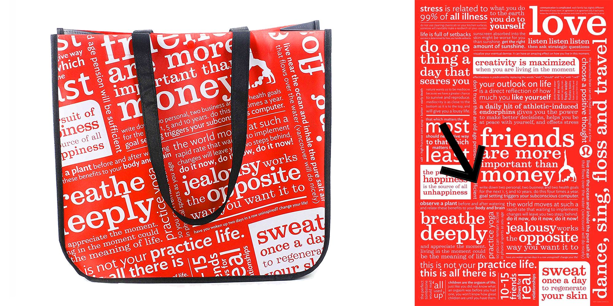 Lululemon Printed Controversial Sunscreen Message On Their Tote Bag Controversy