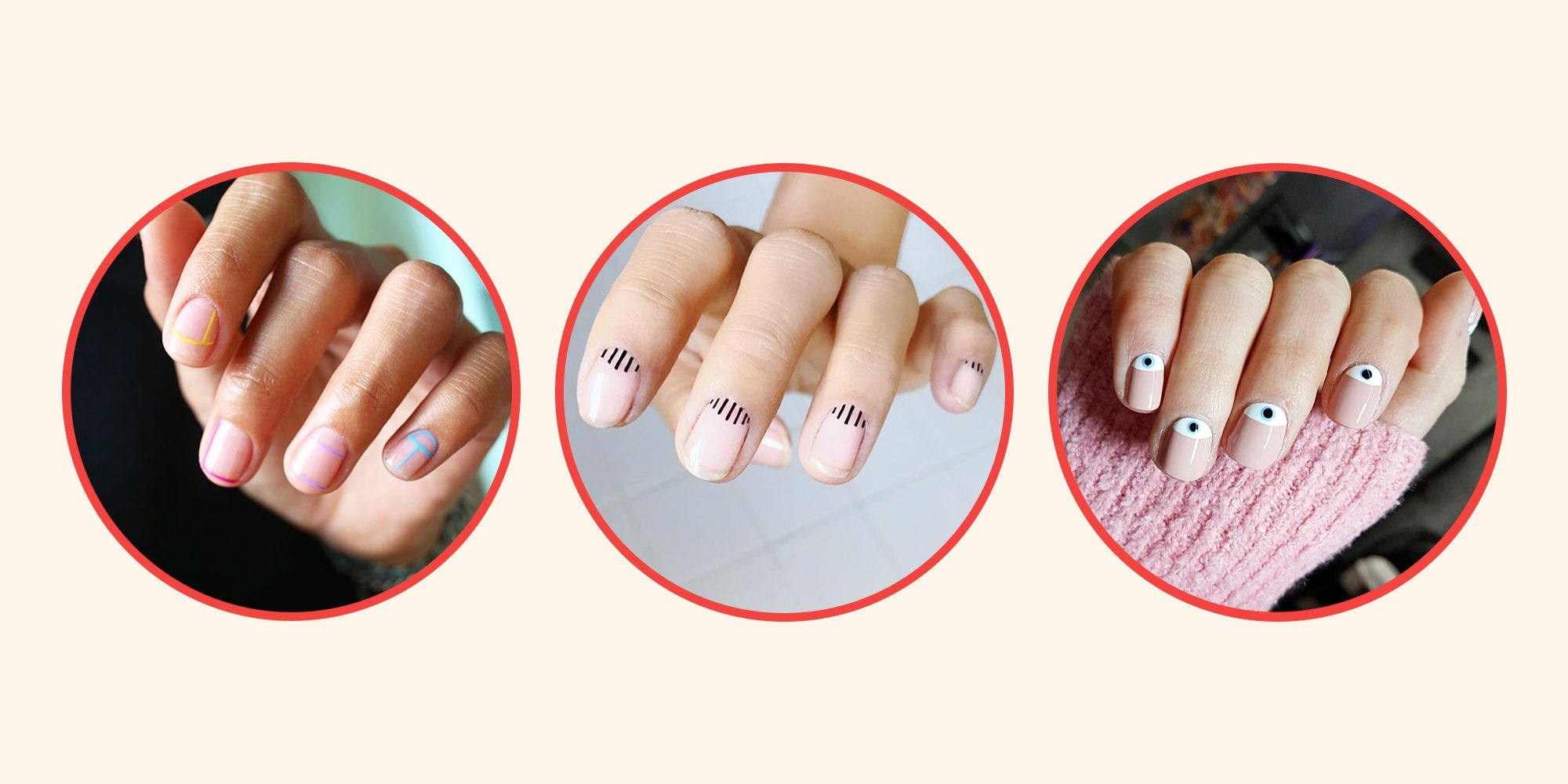 13 Pretty Minimalist Nail Ideas to Copy - Easy and Simple Nail Art ...