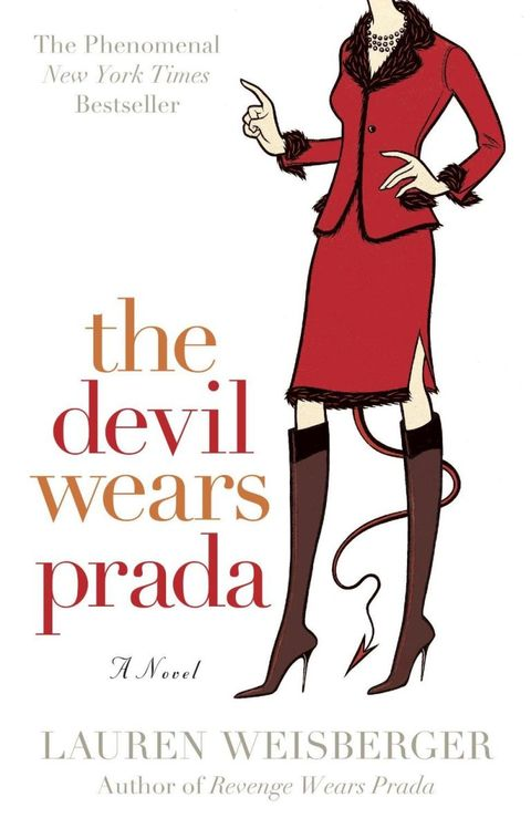 "<p>The movie is based on a <a href=""https://www.amazon.com/s?ie=UTF8&ref_=nb_ss_b&field-keywords=devil%20wears%20prada&url=search-alias%3Dstripbooks"" data-tracking-id=""recirc-text-link"">book</a> written by Lauren Weisberger, the former assistant to the editor-in-chief of <em data-redactor-tag=""em"" data-verified=""redactor"">Vogue</em>, Anna Wintour.  <span class=""redactor-invisible-space"" data-verified=""redactor"" data-redactor-tag=""span"" data-redactor-class=""redactor-invisible-space""></span></p>"