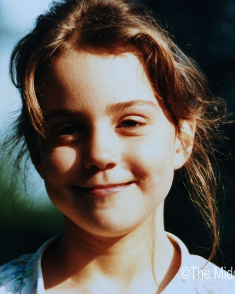 (NO SALES) In this Handout Image provided by Clarence House  www.officialroyalwedding2011.org,  Kate Middleton is pictured aged five.