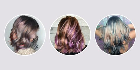 Hair Painting Touch Of Mermaid Color