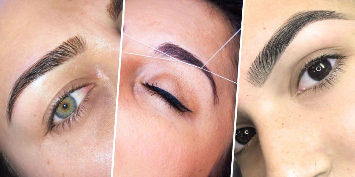 What Eyebrow Threading Feels Like Should You Thread Your Eyebrows