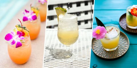 20 Rum Drinks That Will Make You Feel Like You're on a Tropical Vacation Even When You're Not