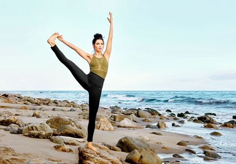 rock, human leg, coastal and oceanic landforms, elbow, active pants, people in nature, physical fitness, exercise, shore, ocean,