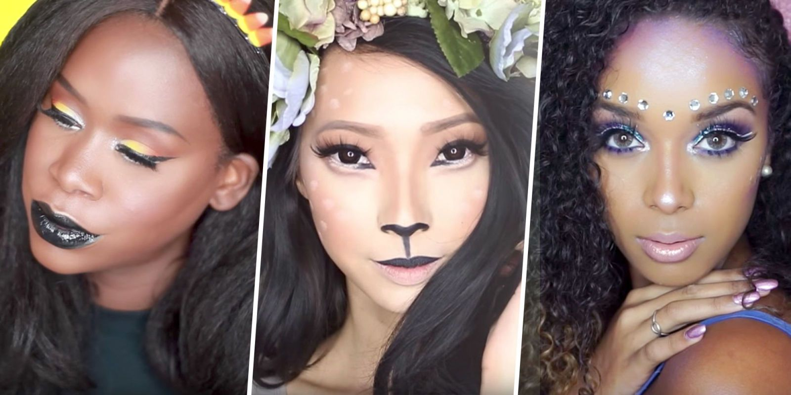 10 supereasy halloween makeup ideas for