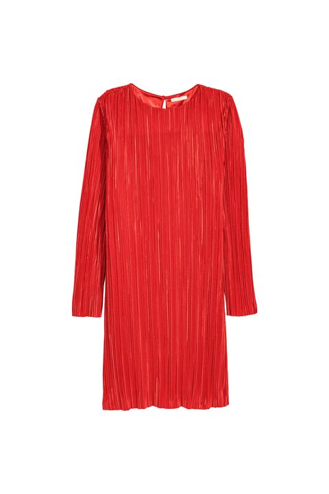 "<p>The same yuba-textured fabric as those pants everybody was wearing this summer, but a dress&nbsp;in an ace color.&nbsp;</p><p><em data-redactor-tag=""em"" data-verified=""redactor"">H&amp;M, $25</em></p><p><strong data-redactor-tag=""strong"" data-verified=""redactor"">BUY IT:&nbsp;</strong><span class=""redactor-invisible-space"" data-verified=""redactor"" data-redactor-tag=""span"" data-redactor-class=""redactor-invisible-space""><strong data-redactor-tag=""strong"" data-verified=""redactor""><a href=""http://www.hm.com/us/product/74506?article=74506-B"" target=""_blank"" data-tracking-id=""recirc-text-link"">hm.com</a>.</strong></span></p>"
