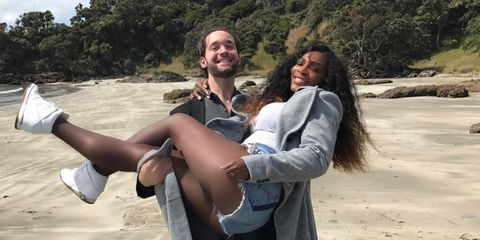Serena Williams gives birth