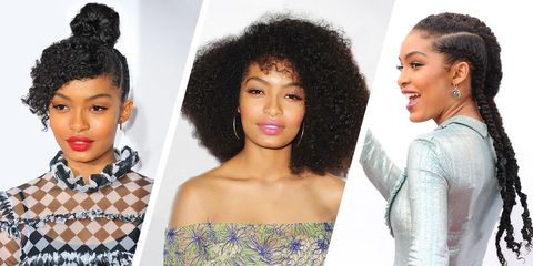 Hair, Hairstyle, Face, Beauty, Black hair, Human, Afro, Jheri curl, Makeover, Lace wig,