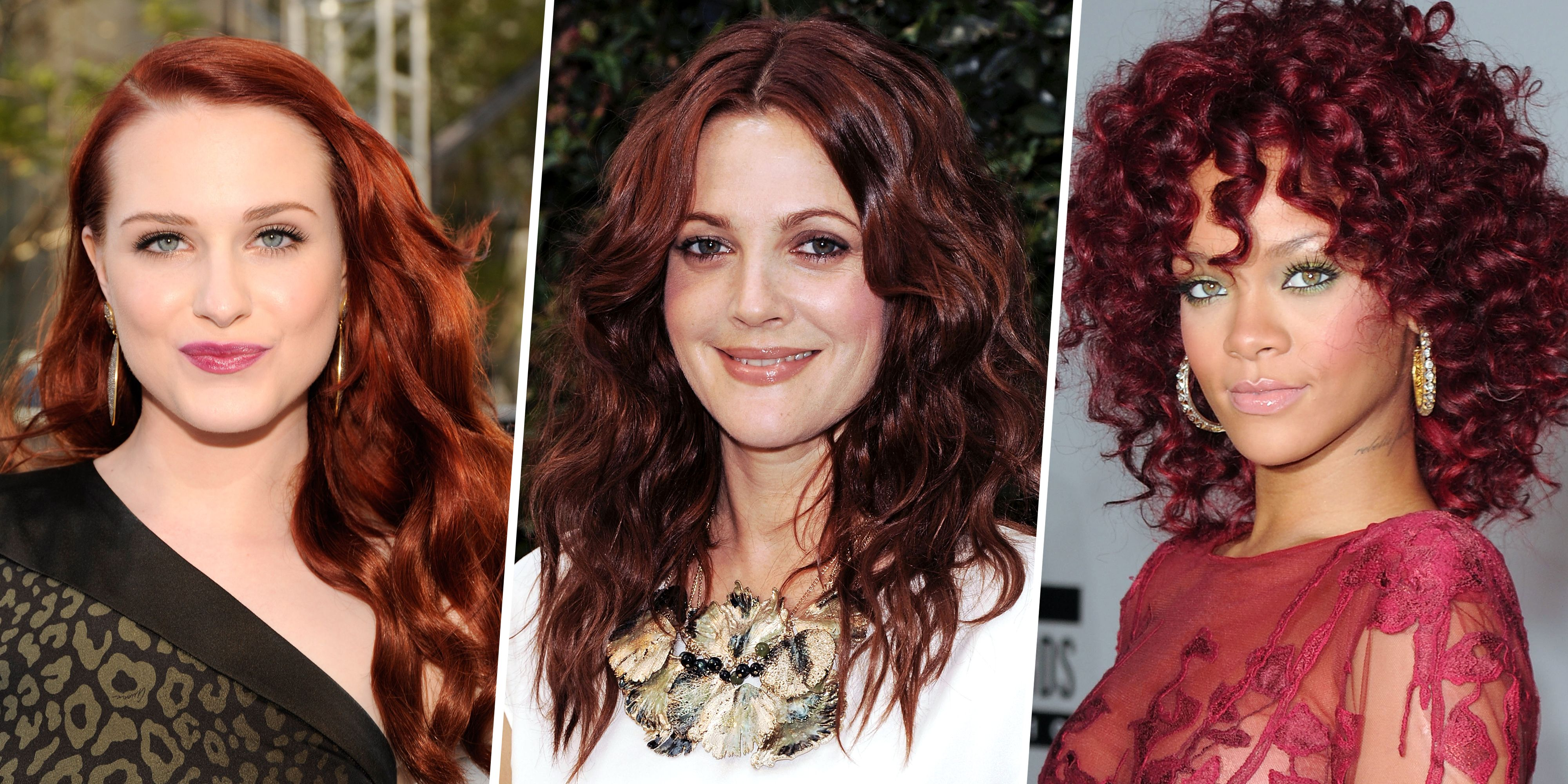 Dark Red Hair Colors Pretty Red Hair Color Ideas