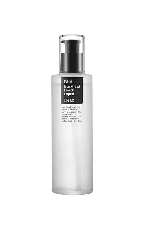 "<p>Fun fact: A choir of angels literally sings each time you unscrew the cap to this pore-clearing serum. Okay, not really, but the four-percent BHA (beta hydroxy acid) in this magical liquid will gently soften rough skin, dissolve blackheads, and fade dark spots with consistent nightly use. &nbsp;</p><p><i data-redactor-tag=""i"">Cosrx BHA Blackhead Power Liquid, $15</i><strong data-redactor-tag=""strong""></strong></p><p><strong data-redactor-tag=""strong"">BUY IT: <a href=""https://www.amazon.com/Cosrx-Bha-Blackhead-Power-Liquid/dp/B00OZEJ8R8"">amazon.com</a>.</strong></p>"