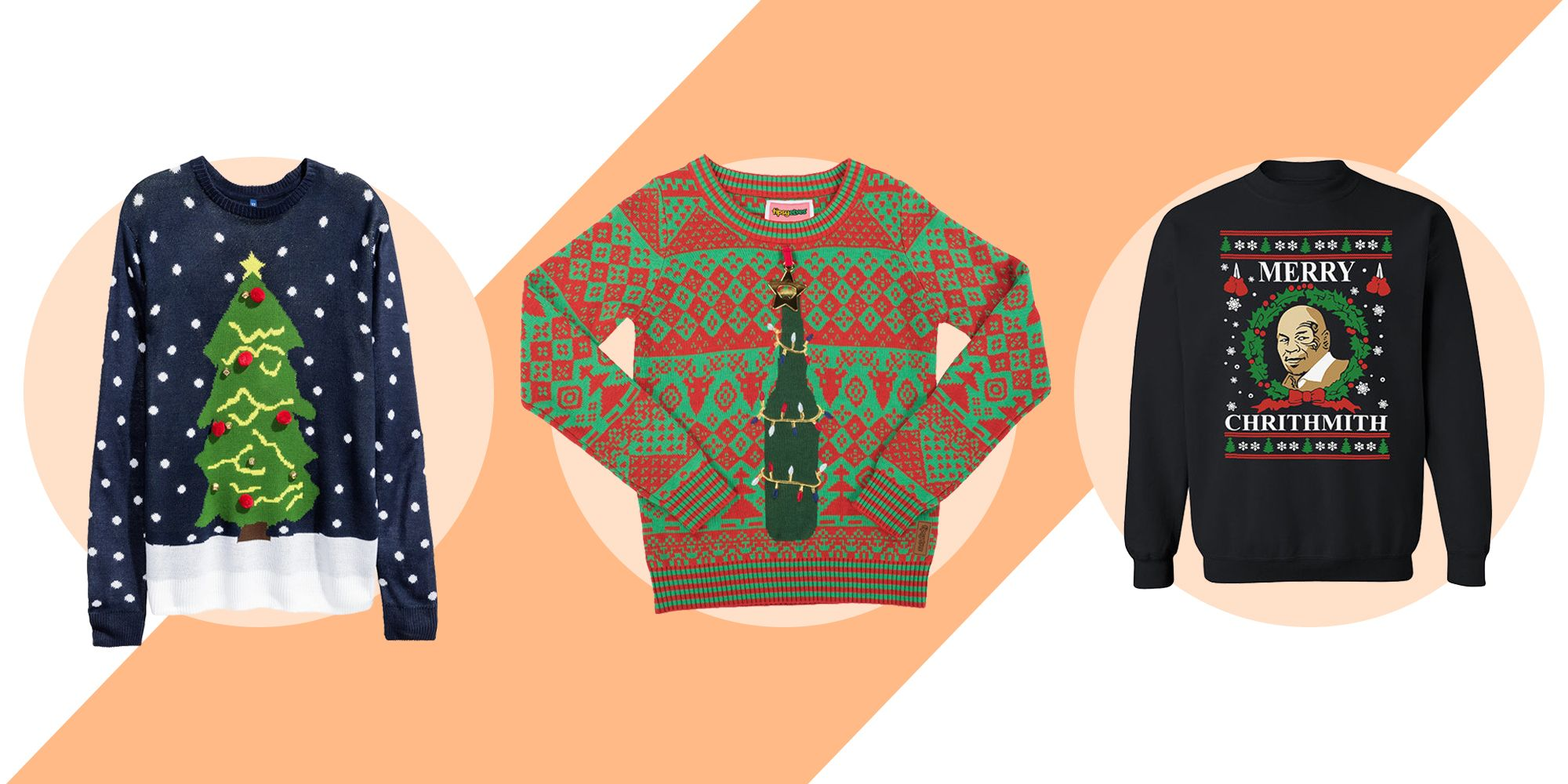 10 Best Ugly Christmas Sweaters of 2017 - Tacky Holiday Sweater Ideas