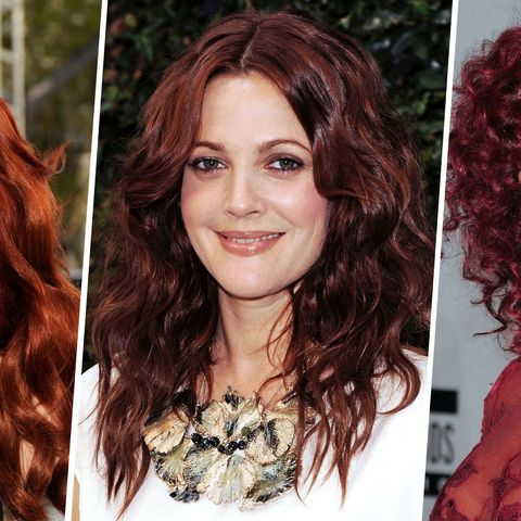 50 Red Hair Colors - Best Ideas for Red Hair