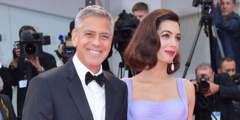 George Clooney discusses twins Amal Clooney