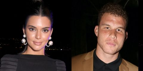 Kendall Jenner and Blake Griffin hanging out