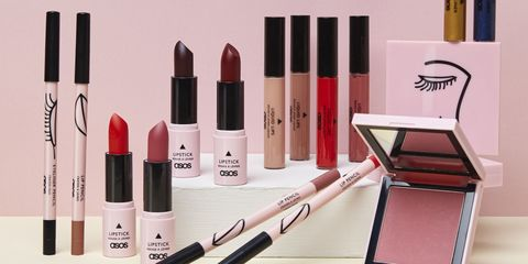 Product, Red, Pink, Beauty, Cosmetics, Lipstick, Liquid, Material property, Lip gloss, Beige,