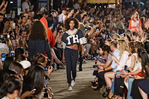 People, Crowd, Fashion, Product, Fashion show, Runway, Audience, Event, Public event, Footwear,