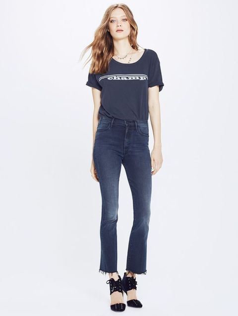 Clothing, Waist, Shoulder, Denim, Jeans, Pocket, Neck, Joint, Photo shoot, Sleeve,