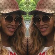 Beyonce Wore head to toe Gucci