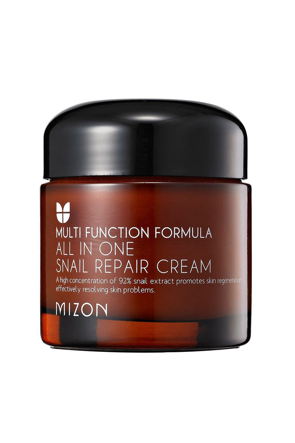 "<p>Yes, snails seem like a gimmicky marketing ploy, but they're a staple in K-beauty, thanks to the skin tone-evening powers in their mucin. And this lightweight, mattifying face cream is filled with 92-percent snail extract, making it a dark-spot fading powerhouse.</p><p><i data-redactor-tag=""i"">Mizon All-In-One Snail Repair Cream, $12</i></p><p><strong data-redactor-tag=""strong"">BUY IT: <a href=""https://www.amazon.com/MIZON-Snail-Repair-Cream-Grams/dp/B00AF63QQE?th=1"">amazon.com</a>.</strong></p>"