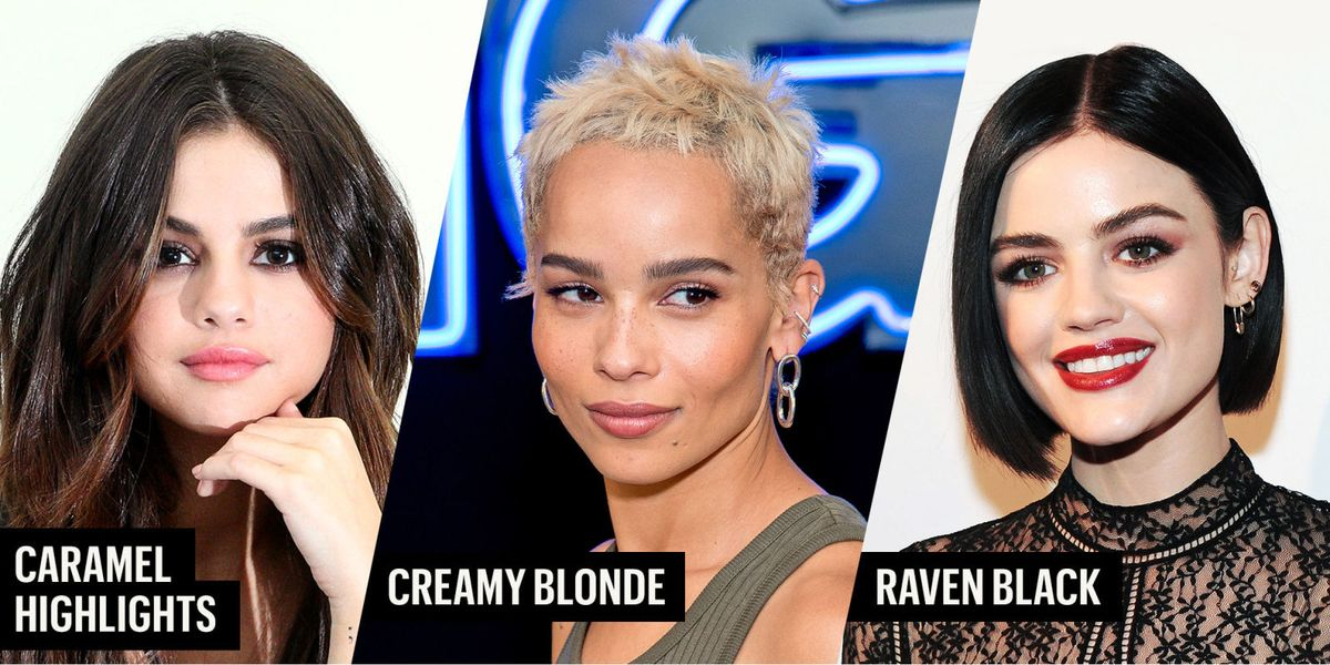 Best Fall Hair Colors Hair Color Trends For Fall 2017