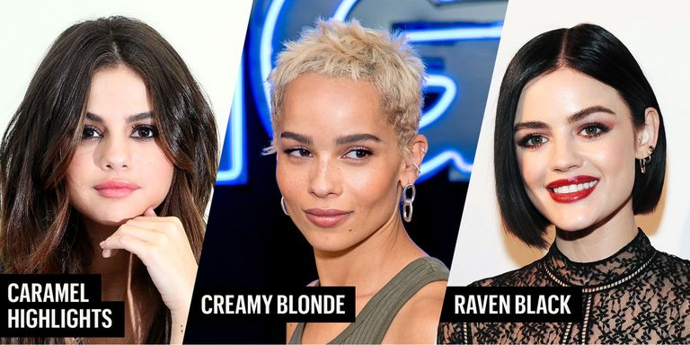 Best Fall Hair Colors - Hair Color Trends for Fall 2017