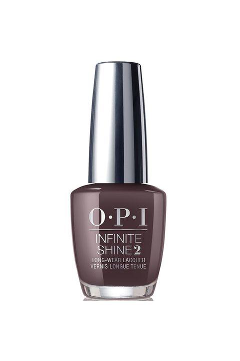 Black Coffee Opi Iceland Infinite Shine Collection Nail Polish