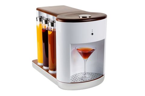 "<p>Let Somabar craft your perfect cocktail. Pick your poison on the app, then watch the machine use its washable pods to expertly shake your&nbsp&#x3B;spirits, putting the happy in happy hour. The company has been develop- ing its technology for several years, with plans to send its first commercial shipment this year.&nbsp&#x3B;</p><p>Available December 2017. Somabar, from $2,000</p><p><strong data-redactor-tag=""strong"" data-verified=""redactor"">BUY IT:&nbsp&#x3B;<a href=""http://somabar.com/"" target=""_blank"" data-tracking-id=""recirc-text-link"">somabar.com</a>.</strong></p>"