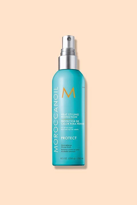 "<p>Mist this argan oil-based spray over damp hair to help trap in moisture while you blow-dry and flat-iron.</p><p><strong data-redactor-tag=""strong""> </strong></p><p><i data-redactor-tag=""i"">Moroccanoil Heat Styling Protection, $27</i></p><p><strong data-redactor-tag=""strong"">BUY IT:&nbsp&#x3B;<a href=""https://www.amazon.com/Moroccanoil-Formula-Defense-Styling-Protection/dp/B00HZT94IS"" target=""_blank"">amazon.com</a>.</strong></p>"