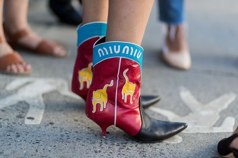 <p>When the street style is already next-season. </p>