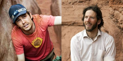 """<p>Franco played&nbsp;daredevil Aron Ralston in the 2010 thriller&nbsp;<em data-redactor-tag=""""em"""" data-verified=""""redactor"""">127 Hours</em>, which&nbsp;tells the story of how Ralston was&nbsp;trapped in a canyon after a boulder fell on his arm. <span class=""""redactor-invisible-space"""" data-verified=""""redactor"""" data-redactor-tag=""""span"""" data-redactor-class=""""redactor-invisible-space""""></span></p>"""