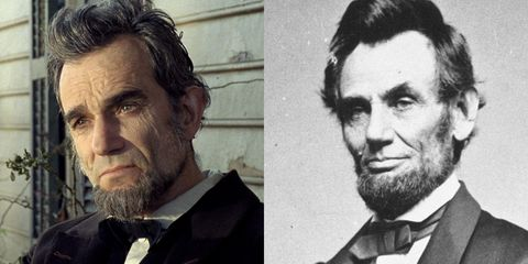 """<p>We're really not sure if Abraham Lincoln was actually raised from the dead for this film, but Daniel Day Lewis doubles as the former president in the 2012 drama <em data-redactor-tag=""""em"""">Lincoln</em>. <span class=""""redactor-invisible-space"""" data-verified=""""redactor"""" data-redactor-tag=""""span"""" data-redactor-class=""""redactor-invisible-space""""></span></p>"""