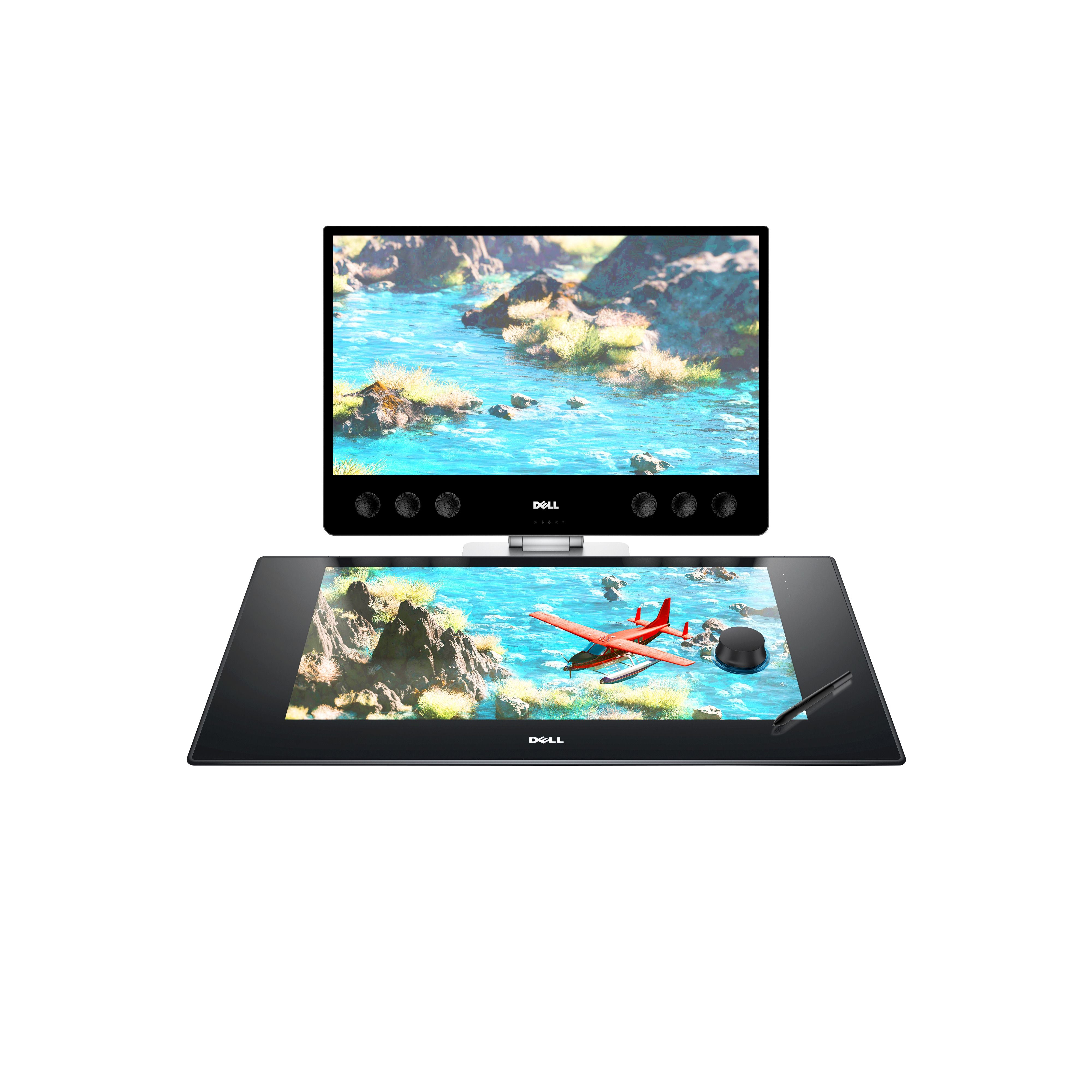 """<p>Trash cans filled with crumpled sketches can't compete against this Dell smart workspace, a 27-inch surface that uses a stylus and dial-like """"totem"""" to turn your visions into reality.</p><p><em data-redactor-tag=""""em"""" data-verified=""""redactor"""">Dell, $1,799</em></p><p><strong data-redactor-tag=""""strong"""" data-verified=""""redactor"""">BUY IT: <a href=""""http://www.dell.com/en-us/work/shop/workstations-isv-certified-dell/dell-canvas-27/spd/dell-canvas-kv2718d/s001pdc27us"""" target=""""_blank"""" data-tracking-id=""""recirc-text-link"""">dell.com</a>.</strong></p>"""