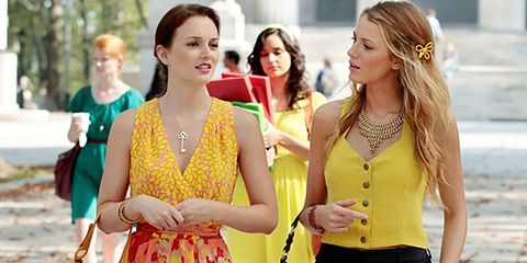 Yellow, Clothing, Street fashion, Fashion, Friendship, Fun, Summer, Shoulder, Outerwear, Dress,